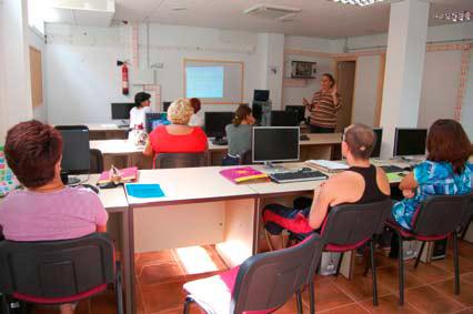 Participantes en el curso de formación