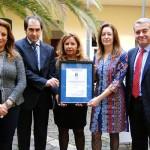 Foto entrega Premio Aenor