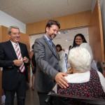 Carlos Alonso visita el Hospital del Nore en Icod/Foto: Tony Cuadrado/ACAN