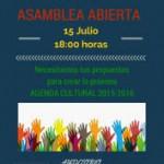 elrosarioAsambleaCultura2015