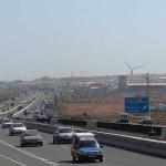 cortes trafico Autopista GC-12015