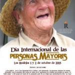 los realejos Cartel Día internacional de los mayores 2015