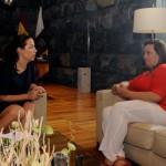 Patricia con directora del ICI2015