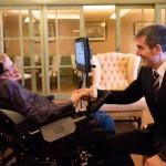 clavijo con Stephen Hawking 2015