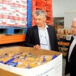 comisionado i social Visita al Banco de Alimentos 2015