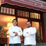 Los hermanos Padrón restaurante de Los Gigantes estrella michelin 2015