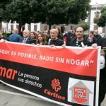 Manifestacion Caritas 2015