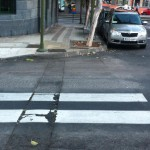 Paso de Peatones en el distrito Salud-La Salle 2015