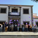 santiagoteide suelta de globos contra la violencia genero 2015
