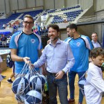 tenerife Baloncesto-Dinamización Pabellón Santiago Martín 2015