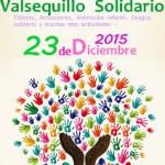 VALSEQUILLO  CARTEL MARATÓN SOLIDARIO 2015