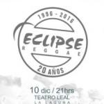la laguna CARTEL 20 ANIVERSARIO eclipse reege 2015