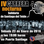 santiagoteideCartel de la prueba nocturna solidaria 2015