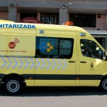 Ambulancia sanitarizada del SUC 2016