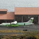 aeropuerto el hierro y avion binter 2016