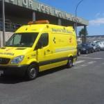 SUC ambulancia en el Hospital Doctor José Molina Orosa en Lanzarote 2016