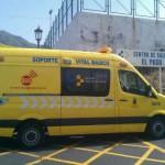 La Palma Ambulancia de soporte vital SUC en El Paso 2016