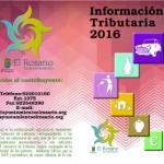 el rosario CALENDARIO FISCAL 2016