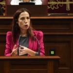 Patricia Hernández en comparecencia parlamentaria 2016