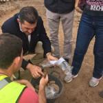 Agaete excavacion prehispanica 2016
