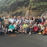 El Hierro Gunter Pauli y el grupo de la Universidad Viva 2016