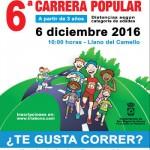 smiguel abona VI Carrera Popular jóvenes Llano 2016