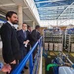 tenerife Visita Sistema hidráulico comarcal Adeje-Arona 2017