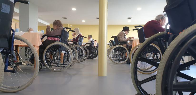 Atención prioritaria al bienestar de los usurarios de la Residencia