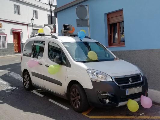 Música y juegos infantiles animan las calles de Tegueste
