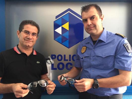 Gafas protectoras a los trabajadores municipales con contacto al COVID19