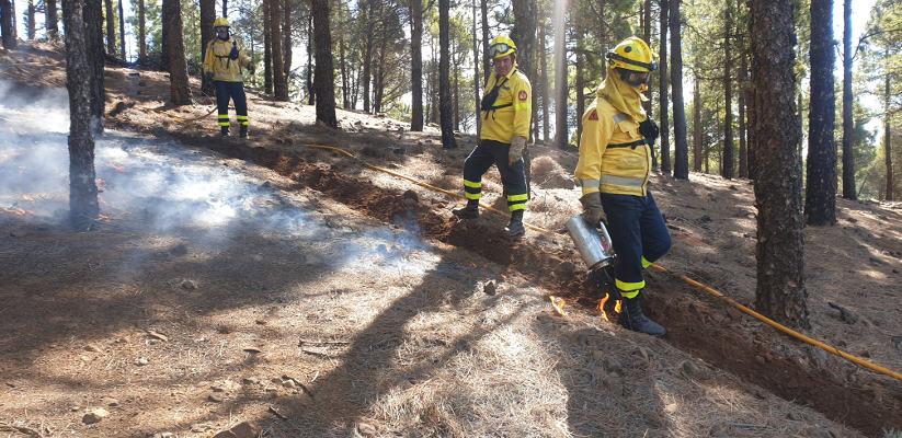 Prevención de incendios también en confinamiento