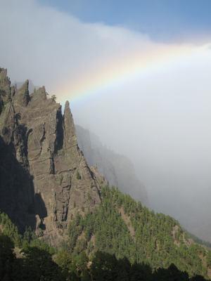 Un sendero de la Caldera de Taburiente participa proyecto TrailGazersBid