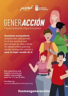 Programa formativo de talleres onl-ine destinado a la juventud