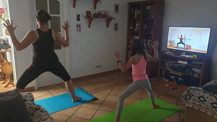 Deporte en casa por La Palma recibió un respaldo masivo