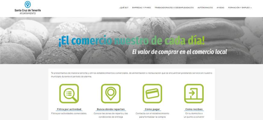Campañas de apoyo al comercio de Santa Cruz de Tenerife