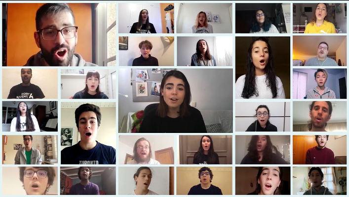 Auditorio de Tenerife estrena videoclips del CoroJuvenil y Musical