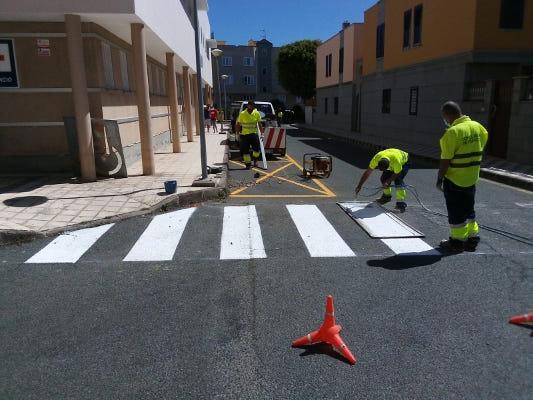 Mejora de la señalización vial en el municipio de Agüimes