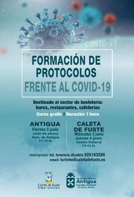 Curso de Formación de Protocolos Frente al COVID 19