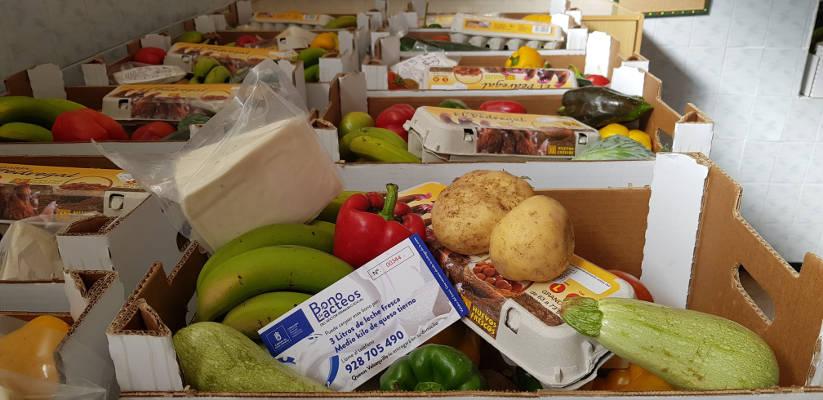 Alimentos del sector primario de Cuota Cero para 6.000 familias