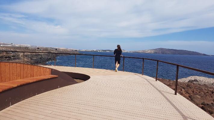 Instalación de un sendero en El Burrero para unir la playa y el mirador