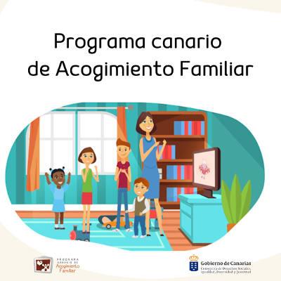 Campaña para aumentar el número de familias de acogida