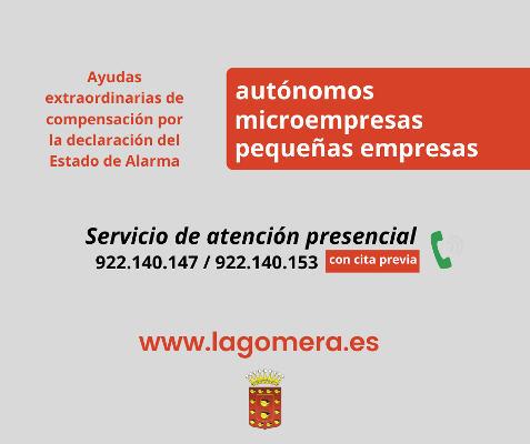 Servicio presencial para ayudar a autónomos y empresas