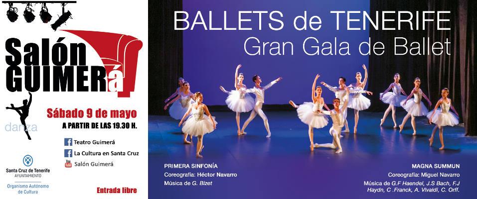 El ballet protagonista de Salón Guimerá de la mano de Héctor Navarro