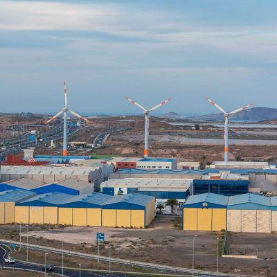 La Zona Industrial de Arinaga tendrá mejoras en infraestructuras