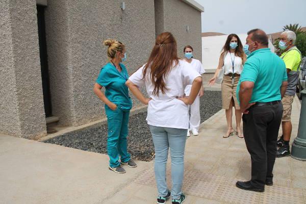 El Ayuntamiento coordina la habilitación del Centro de Salud