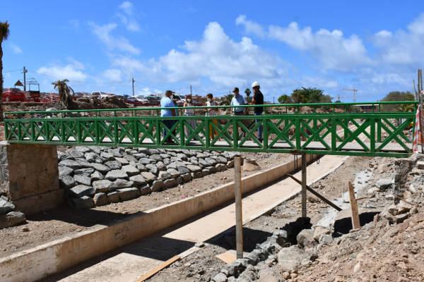El Barranco de Pino Seco se transforma en espacio de recreo