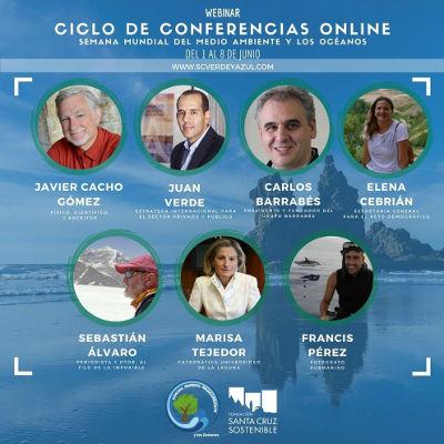 Medio millar de participantes en el ecuador de sus conferencias online