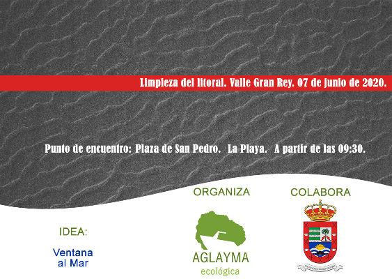 Campaña de limpieza del litoral de Valle Gran Rey