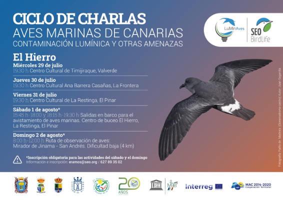 Reserva de la Biosfera aborda la supervivencia de las aves marinas
