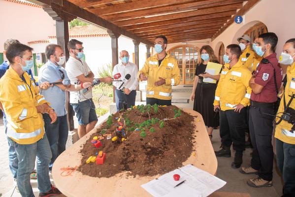 El Cabildo trabaja en una estructura de futuro para afrontar emergencias